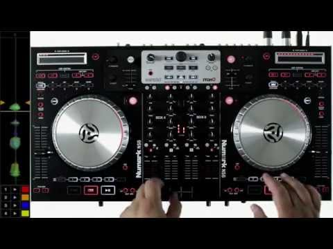 The Numark NS6 Mixing