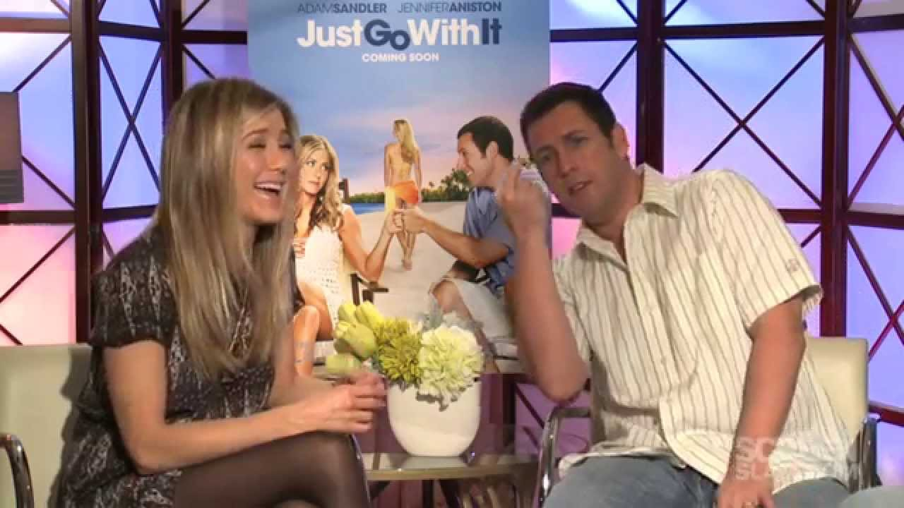 Just Go With It: Adam Sandler & Jennifer Aniston Exclusive Movie Interview