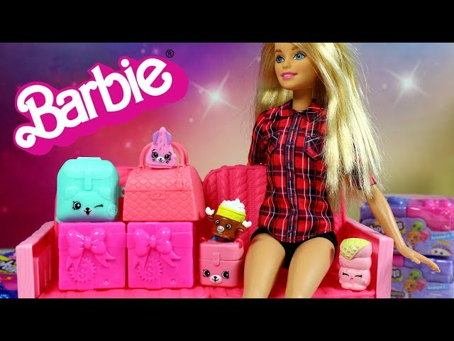 Barbie & Shopkins • Join the Party & Happy Places • Zabawki Niespodzianki