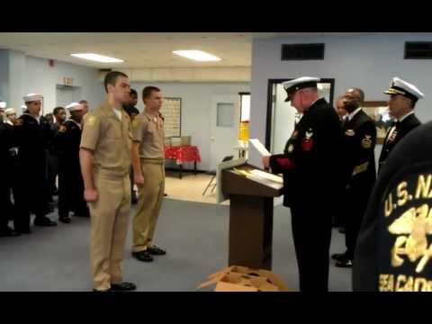 U.S. Naval Sea Cadet Corps Chief Petty Officer Promotion