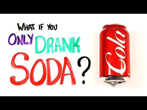 Что будет, если пить только газировку?