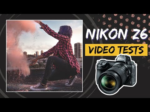 Testing Out The TOP Video Features Of The Nikon Z6!