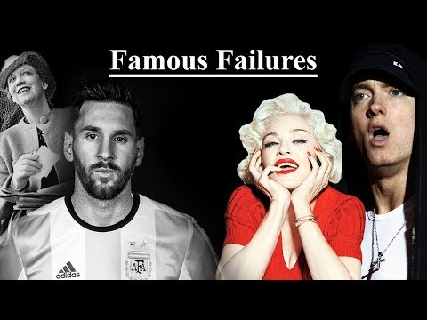 Famous Failures - Never Give Up (Part 2)