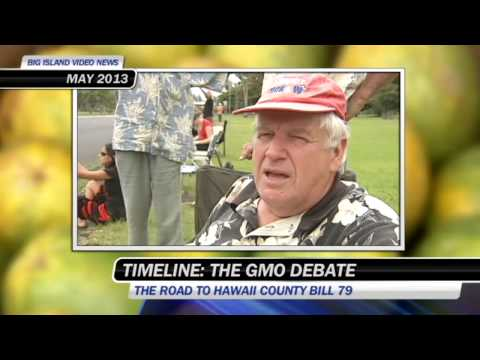 GMO debate in Hawaii County - TIMELINE