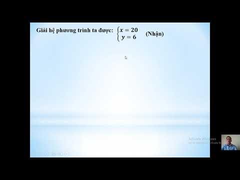 Toán 9 chủ đề giải bài toán bằng cách lập hệ phương trình