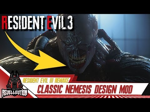 resident evil 3 remake original nemesis mod