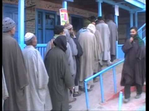 Qualified youth in India's Kashmir throng polling booths to vote for employment