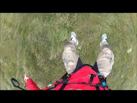 Speedflying @ Cruach Mhárin, Dún Chaoin, West Kerry 23rd Aug 2012