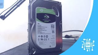 Unboxing: HD Seagate 1TB BarraCuda