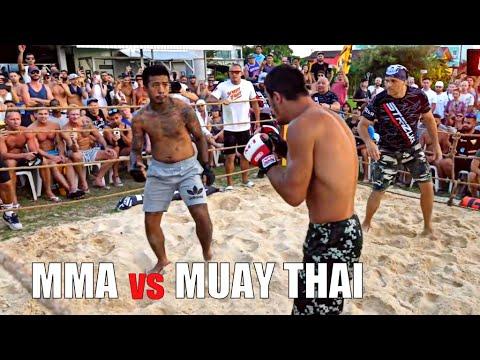 MMA Vs MUAY THAI