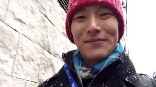 Tokyo First Snow 11-24-2016