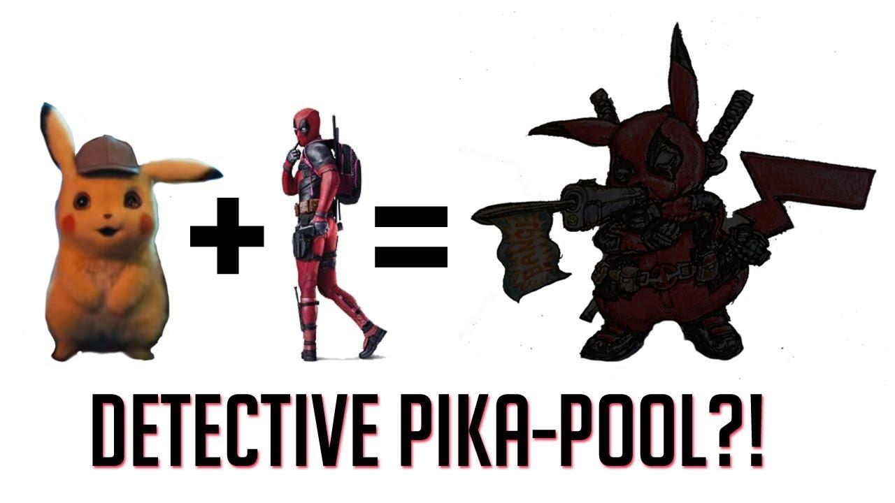 Detective Pikachu Deadpool Pika Pool Drawing Hd Youtube