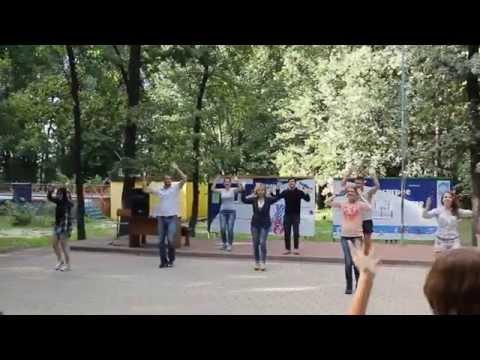 Танец-игра на ускорение ДОЛ Сокол-2015 (3 смена)