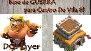 Clash of Clans: Bases de GUERRA para CV 8