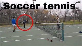 Best Soccer/football tennis Match ever!!