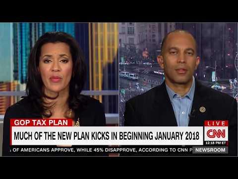 Rep. Jeffries discusses GOP Tax Bill on CNN