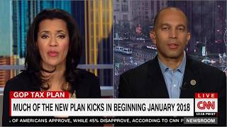 Rep. Jeffries discusses GOP Tax Bill on CNN's Newsroom with Fredricka Whitfield