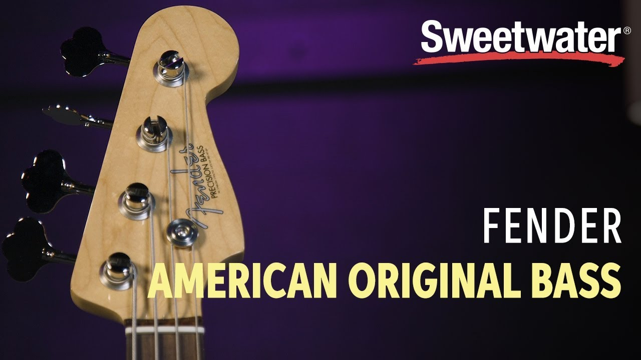 Fender American Original Precision Bass Review