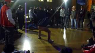 PEKESTEP VS KBZA | POPPING BATTLE 2013
