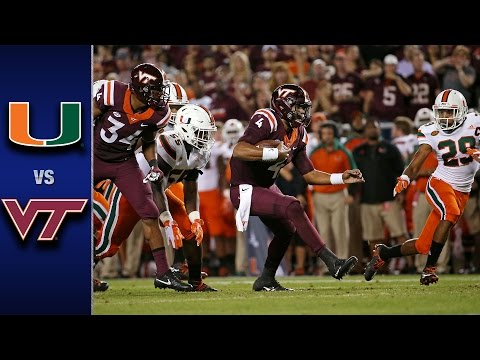 Miami vs. Virginia Tech Football Highlights (2016)
