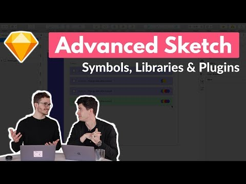 Speed Up Your Sketch Workflow | Sketch for Mac Design Tutorial | Symbols, Libraries, Plugins thumbnail