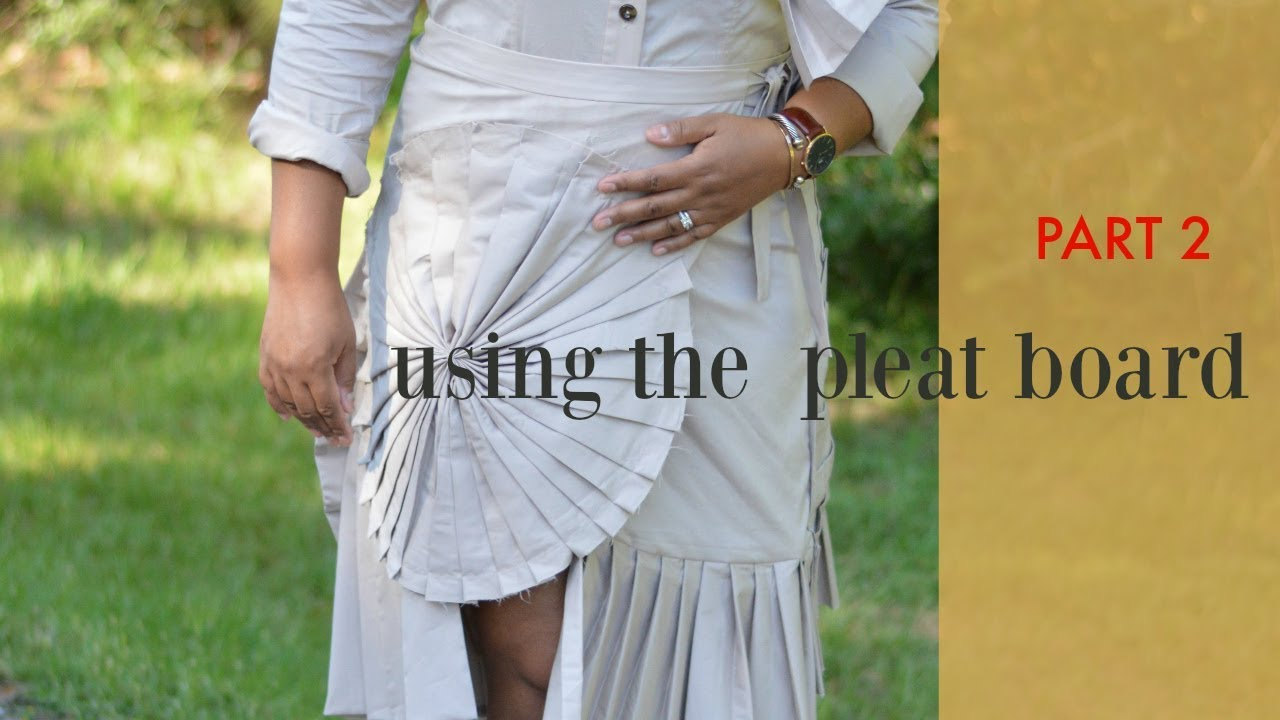 how to create permanent pleats