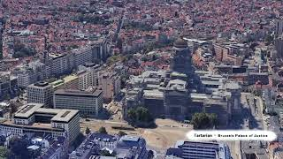 World Tartarian Structures - Brussels -  Palace of Justice