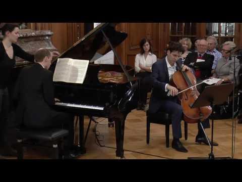 F. Mendelssohn - Sonata for Cello and Piano No. 2 in D Major, Op. 58