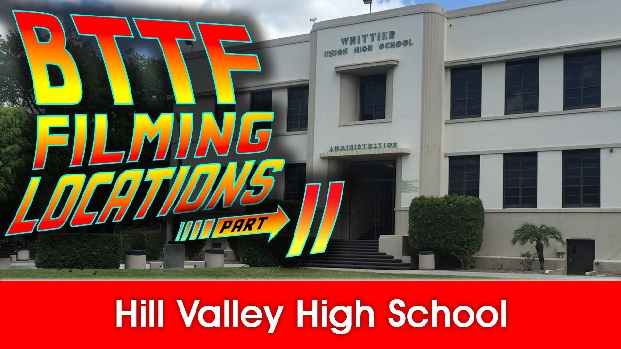 Back to the Future Filming Locations: Hill Valley High School - YouTube