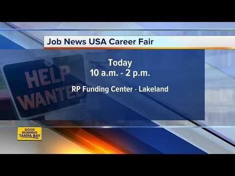 Hundreds Of Jobs Available At Job News USA's Lakeland Job Fair