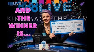 mqdefault Beth Cape Wins The 888poker Live in London Charity Event!