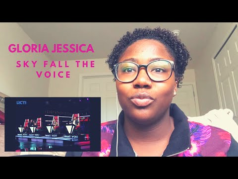 Gloria Jessica -Sky Full of Stars Reaction [The Voice Indonesia 2016]
