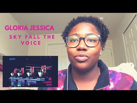 Gloria Jessica -Sky Full of Stars Reaction [The Voice Indonesia 2016]