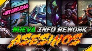 REWORK Asesinos, CAMBIOS REVELADOS | Noticias League Of Legends
