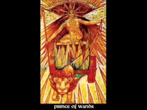 BOOK OF THOTH Crowley PRINCE OF WANDS