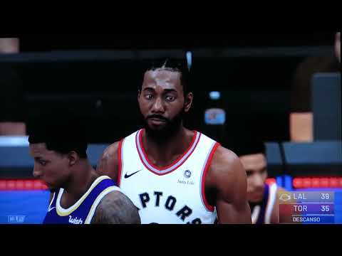 FINAL NBA2K 19 LAKERS - TORONTO 1 PARTIDO