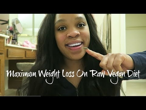 Day 6| Raw Vegan Challenge (My goals this week for maximum weight loss) #FitFebruary