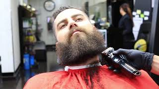 BEARD TRIM Tutorial | Get Rid of FRIZZY ENDS, TUTORIAL FOR BEGINNERS ✔️