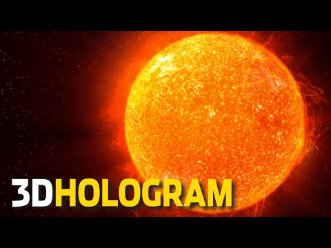 3D Hologram: A Tour Of The Solar System - 3D Hologram Projector