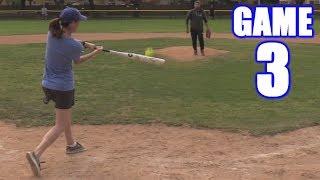 EMILY HOMERS AGAIN! | On-Season Softball Series | Game 3