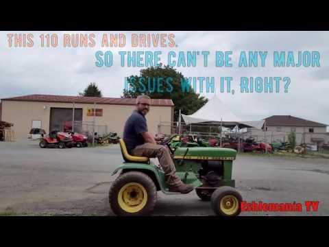John Deere 110, 112, & 200 Series Tractors - The Big Problem Most People  Don't Notice