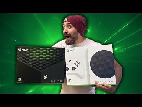 😍 Xbox Series X vs Series S Unboxing - Official!
