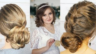 Прически на Новый Год 2018.Hairstyles for New Year 2018