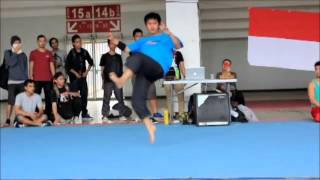 skywalker army jogja at jakarta tricking competition 2012