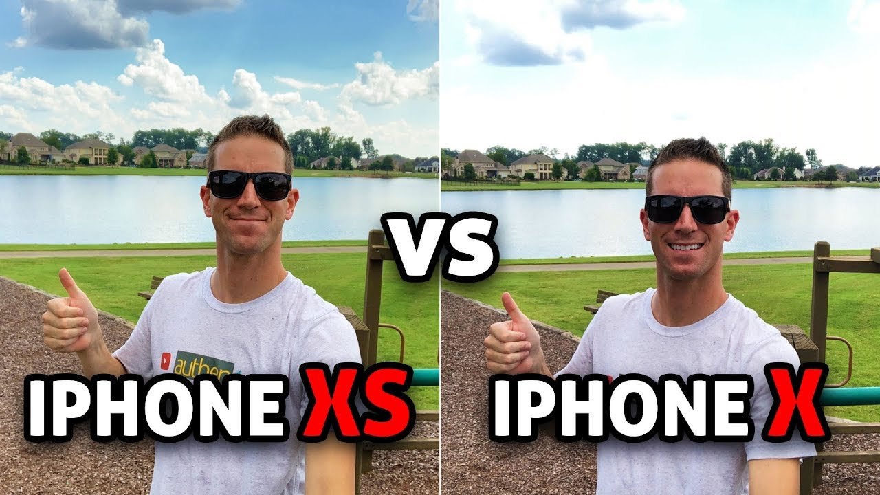 iPhone XS vs iPhone X: CAMERA TEST! (4K) - YouTube