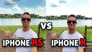 iPhone XS vs iPhone X: CAMERA TEST! (4K)