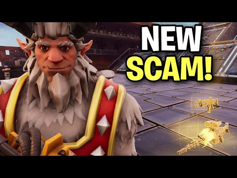 *NEW SCAM* 🤫 Instantly Make Scammers Respawn! 😱 (Scammer Get Scammed) Fortnite Save The World