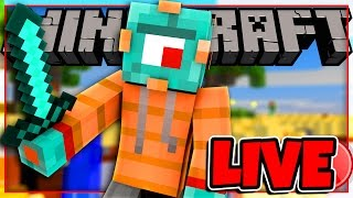 Minecraft MINI GAMES Live! Sky Wars, Egg Wars, Murder and MORE!