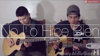 No Lo Hice Bien / Los Plebes Del Rancho / @AldoGarcia @AndresGarcia (COVER)