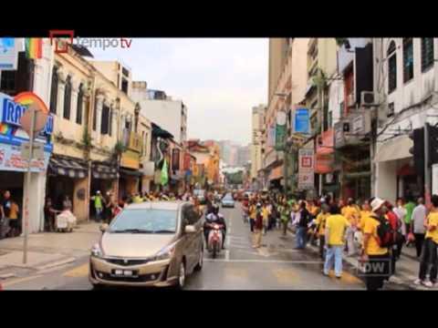 Aksi Demonstrasi Legal Pertama di Malaysia